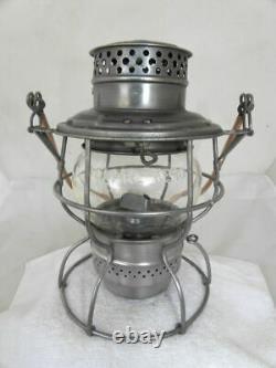 SOUTHERN PACIFIC RAILROAD LANTERN Clear CNX Lantern Globe