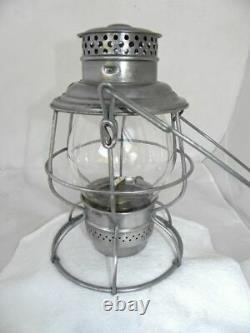 SOUTHERN PACIFIC RAILROAD LANTERN Clear Cast SPCo Lantern Globe