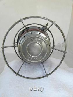 SOUTHERN PACIFIC RAILROAD LANTERN Signal Red Lantern Globe