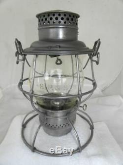 SPOKANE PORTLAND & SEATTLE RAILROAD LANTERN Clear Etched SP&S Lantern Globe