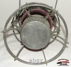SPRR Southern Pacific Railroad 1897 A&W Lantern withRed Cast Corning Globe