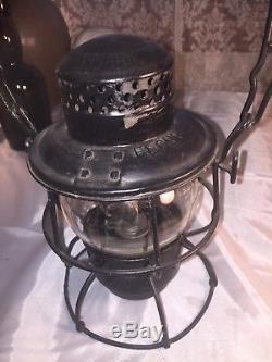 Scare Railroad Lantern Florida East Coast Railroad Adlake Kero