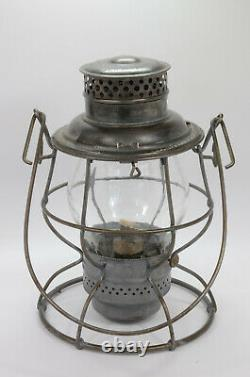 Scare VIRGINIAN RY. Adlake RELIABLE Railroad lantern outstanding condition