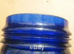 Short 3-1/4 Inches Blue Rr Railroad Lantern Globe