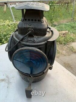 Southern Pacific Railroad Switch Caboose Lamp