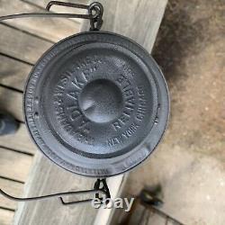 Southern Pacific Railroad Tall Globe Railroad Lantern