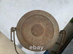 Texas & New Orleans Railroad Lantern WithCast T&NO Globe