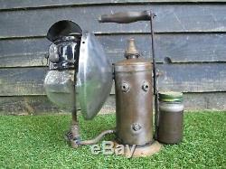 Tilley al10 railway hand inspection lamp paraffin pressure lantern lamp rare