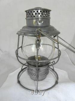 UNION PACIFIC RAILROAD LANTERN Clear Cast Overland Route Lantern Globe