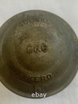 VINTAGE Adlake Kero 2-54 C & O Railroad Lantern Chesapeake and Ohio Railway WoW