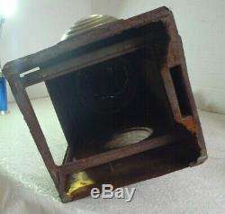 Very Early Boston & Maine Railroad Lantern by Peter Gray Company B & M R R