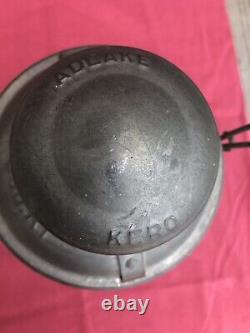 Very Nice Southern Railway lantern Red Globe Adlake Own By Special agent CNO&TP