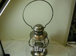 Very Rare R. E. Dietz Pullmans Presentation Pennsylvania Co. Railroad Lantern
