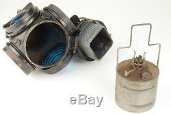 Vintage ADLAKE Railroad Lantern / Lamp Chicago