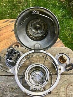 Vintage AT&SF Atchison Topeka & Santa Fe Railroad Lantern DRESSEL Clear Acid Etc