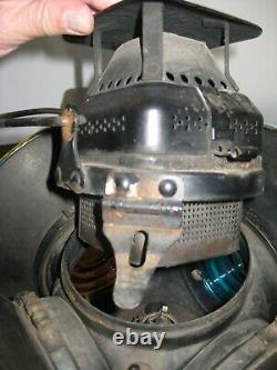 Vintage Adlake PRR 4 Way Directional Signal Railroad Lamp/Lantern/Light