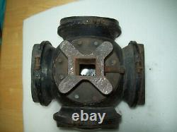 Vintage Adlake Railroad Lantern 4 Way Switch Signal