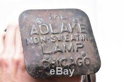 Vintage Adlake Railroad Switch Lantern Light Lamp Locomotive Chicago RR Train