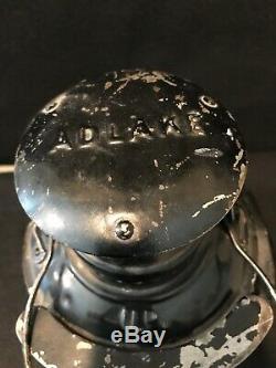 Vintage Adlake Union Pacific Railroad Signal Kerosene Lamp Lantern