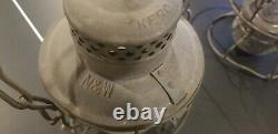 Vintage Antique Adlake Kero Railroad Lantern