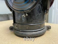 Vintage Arlington Dressel 4 way Railroad Signal Lamp Lantern NJ USA AS IS