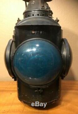 Vintage CNR Canadian National Railway Railroad 4 Way/Lens Signal Switch Lantern