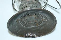 Vintage Cm&stp Chicago Milwaukee St Paul Brass Top Bell Bottom Railroad Lantern