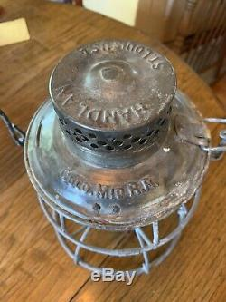 Vintage Colorado Midland Railroad Lantern