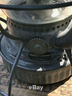 Vintage Delaware Lackawanna & Western Railroad Lantern D. L. & W. R. R. Dietz Vesta