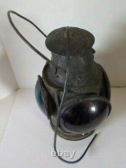 Vintage Denver & Rio Grande Railroad D&RGRR Handlan St. Louis Marker Lamp