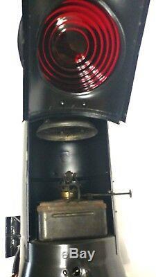 Vintage Dressel Arlington NJ Railway RR Marker or Tail Lamp NY NH & H RR antique