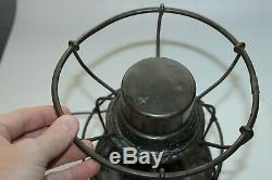 Vintage Frisco Railroad Lantern Handlan Buck Mfg Co St. Louis Mo. Embossed