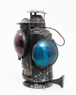 Vintage HLP Railroad Lantern CPR Piper 4 Lamp Switch Light