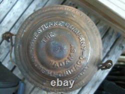 Vintage Houston & Texes Central Railroad (H&T. C. RR) Train Lantern Super Rare