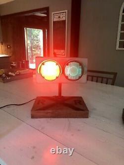 Vintage Lashmar Erie PA Railroad Train Track Switch Light