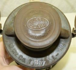 Vintage Old Dietz Vesta M Ry Co Monongahela Railway Railroad RR Lantern
