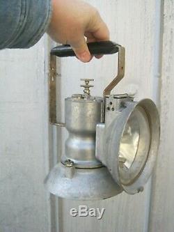 Vintage Oxweld MODEL A UNION CARBIDE LAMP Railroad / Mining Lantern B1851