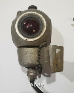 Vintage PYLE 4 sided Railroad Caboose Light #R