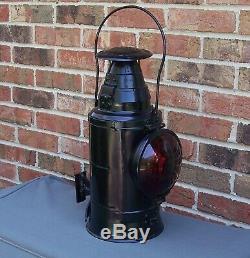 Vintage Pennsylvania Railroad Caboose Marker Tail Lamp Lantern Dressel PRR
