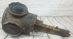 Vintage Racor E 6610 Railroad Signal Light It Has One Broken Glass Needs Clean