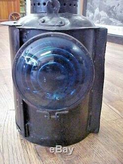 Vintage Railroad Adlake Lantern Embossed UP Union Pacific Semaphore Lamp