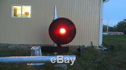 Vintage Railroad Search Light Block Signal Complete Setup Project