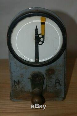 Vintage Railroad Semaphor Indicator