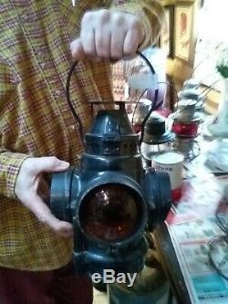 Vintage Railroad Signal Lantern