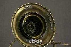 Vintage Railroad Train Conductor Presentation Brass Lantern Frame Parts Repair