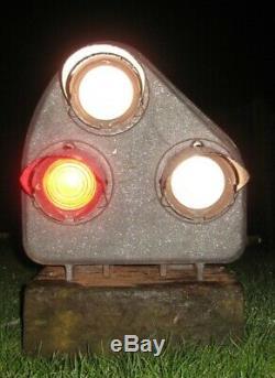 Vintage Railway Ground Signal, Rare, Restoration Project