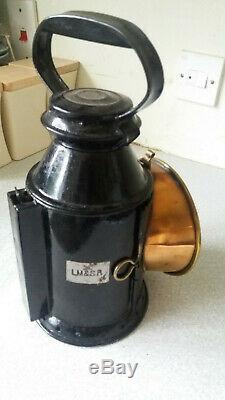 Vintage Railway Lantern / Lamp Lms- Sherwoods Burner