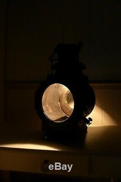 Vintage Railway Locomotive Train Lamp Lantern Light Lamp Home Loft Cottage Decor