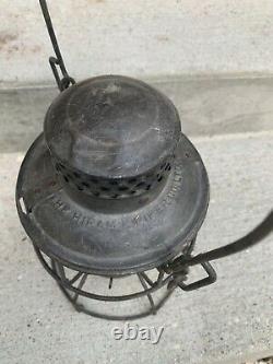 Vintage Railway/Railroad Lantern C. P. R. Lantern Blue Globe