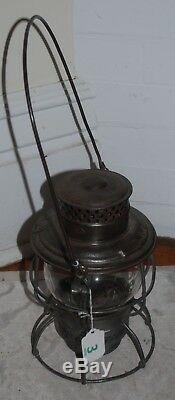 Vintage Rock Island Railroad Lantern Adlake Kero 200 Adams Westlake